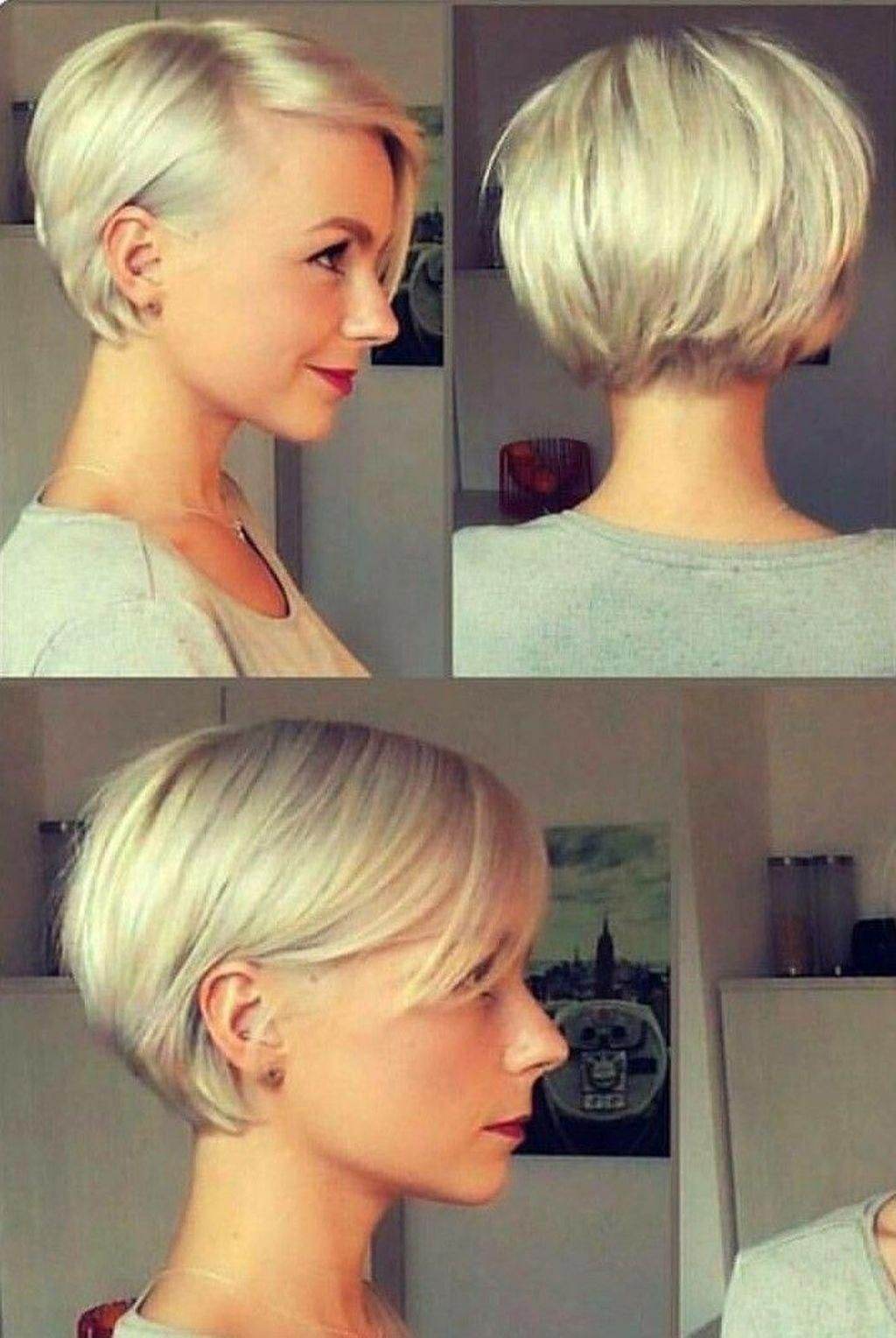 Nice 30 Newest Short Hair Style Ideas For Women Bobhair In 2020 Bobs For Thin Hair Hair Styles Short Hair Styles