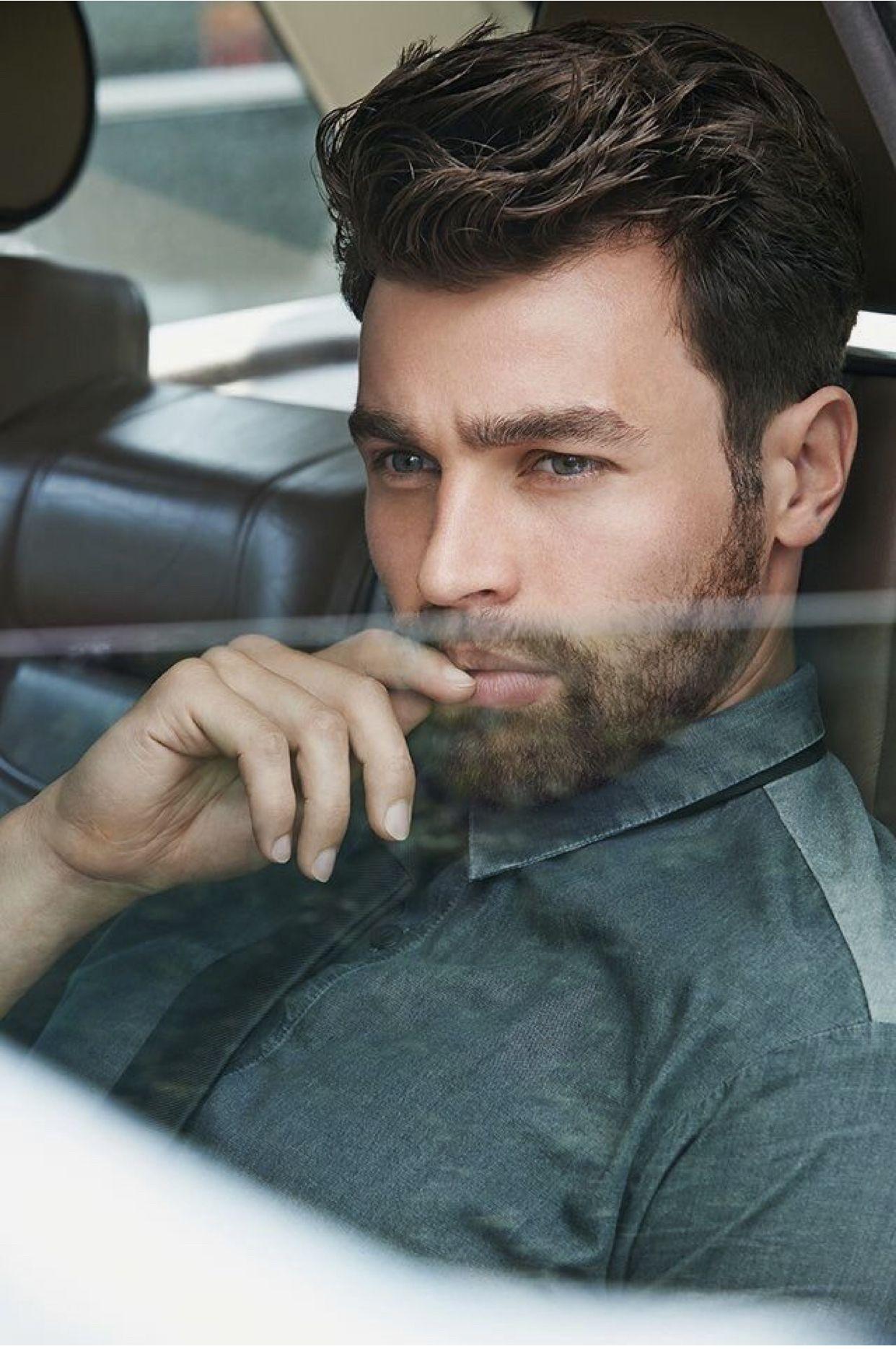 Men Nonchalant Gedekt Mens Hairstyles Haircuts For Men Oval Face Men