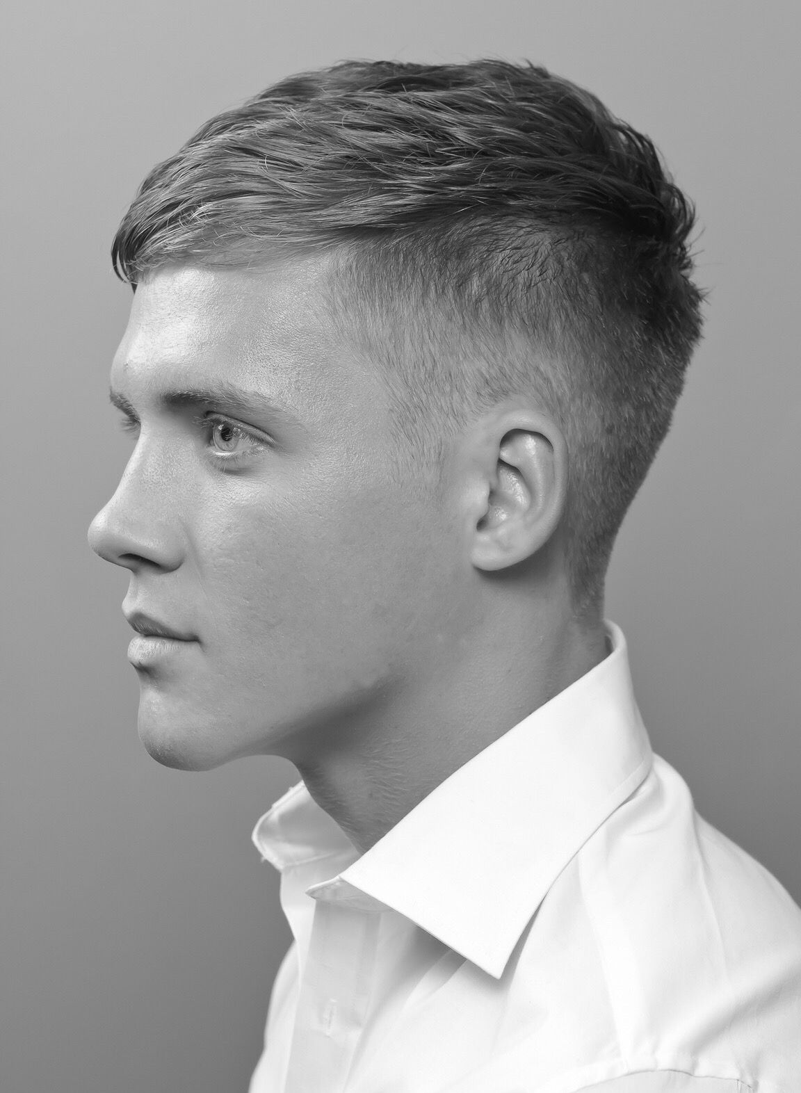 Men S Black White Look Mens Haircuts Fade Boys Haircuts Tapered Haircut