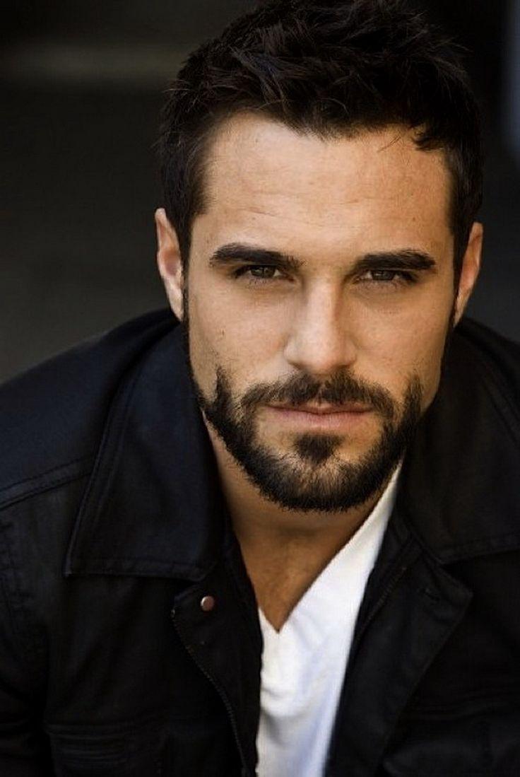 Handsome Mens Facial Hair Styles Beard Styles For Men Round Face Men