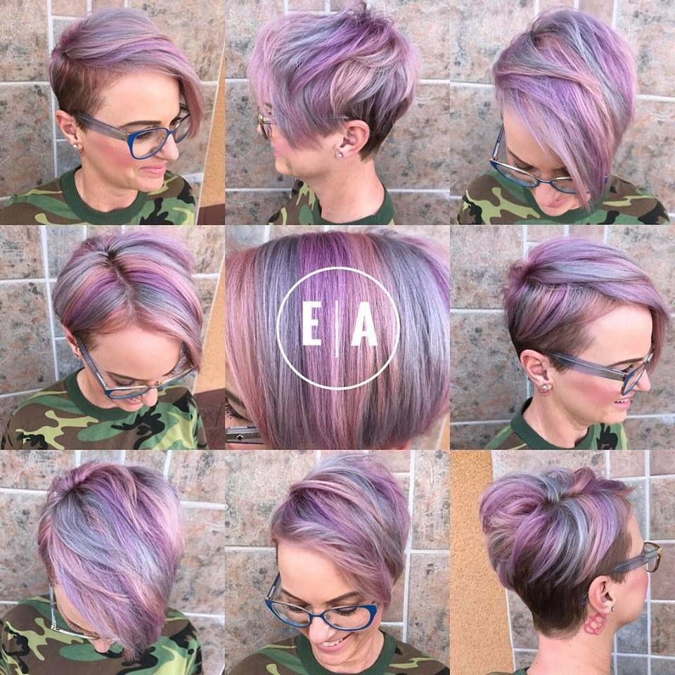 Creatief Met Kleur 10 Super Gave Kleurrijke Korte Kapsels Kapsels Korte Kapsels Pixie Haar