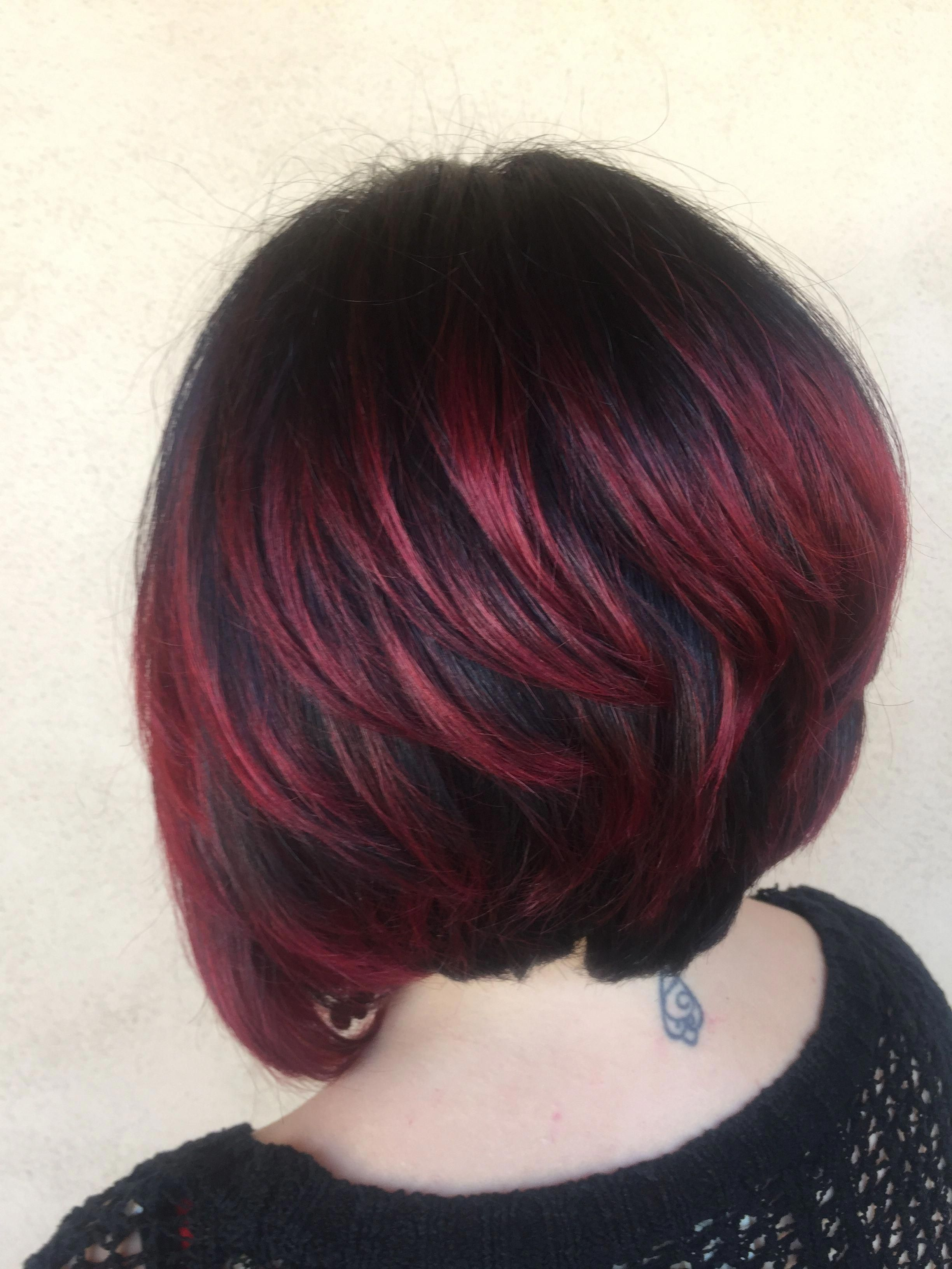 Pin On Ombre Pixie Cut