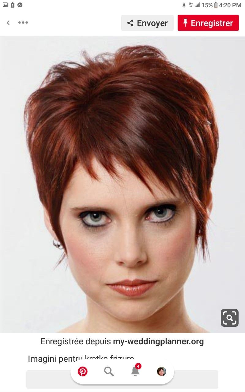 Pin By Iris On Kapsels In 2020 Medium Short Hair Mahogany Red Hair Red Hair Color