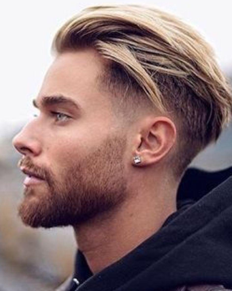 2017 2018 Blond Herfst Opgeknipt Opgeschoren Stijl Undercuts Winter Zomer Kapsels Mannen Lang Haar Mannenkapsels Herenkapsels
