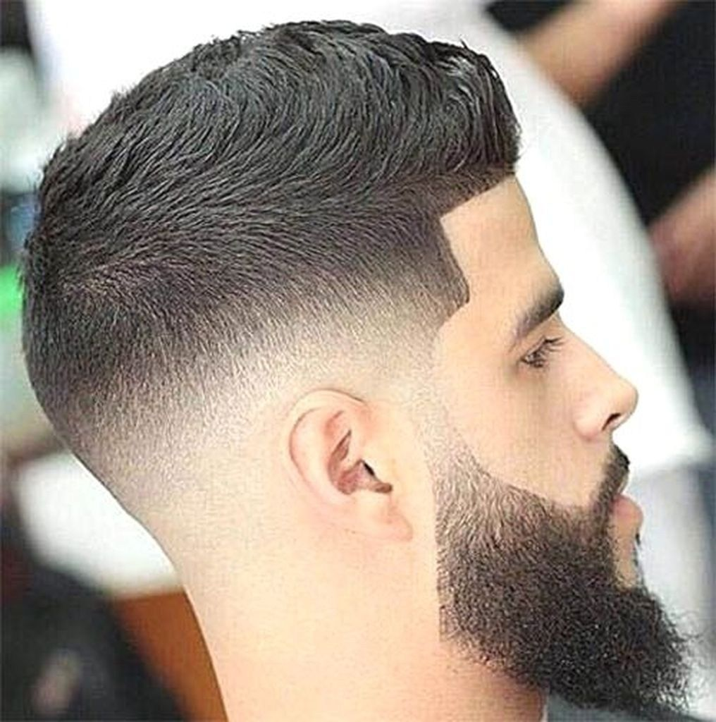 39 Perfect Mens Hairstyle Ideas With Fade Haircut Mid Fade Haircut Medium Fade Haircut Beard Fade