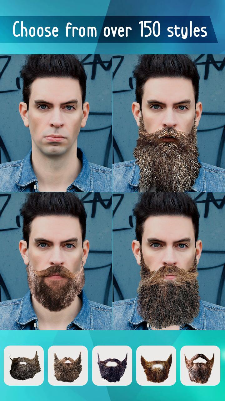 Man Baard Foto Bewerken Mannen Haarstijl App For Android Apk Download