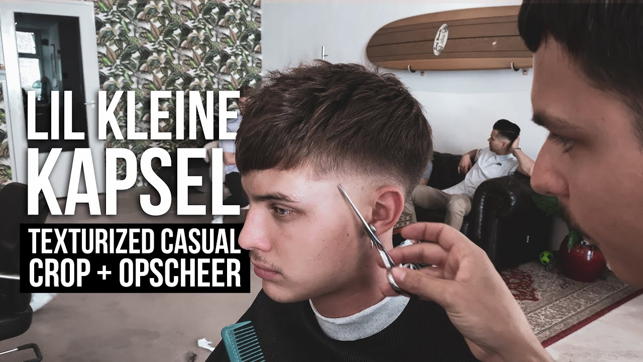 Lil Kleine Kapsel Texturized Casual Crop Opscheer Kort Kapsel Voor Mannen Stijn Youtube