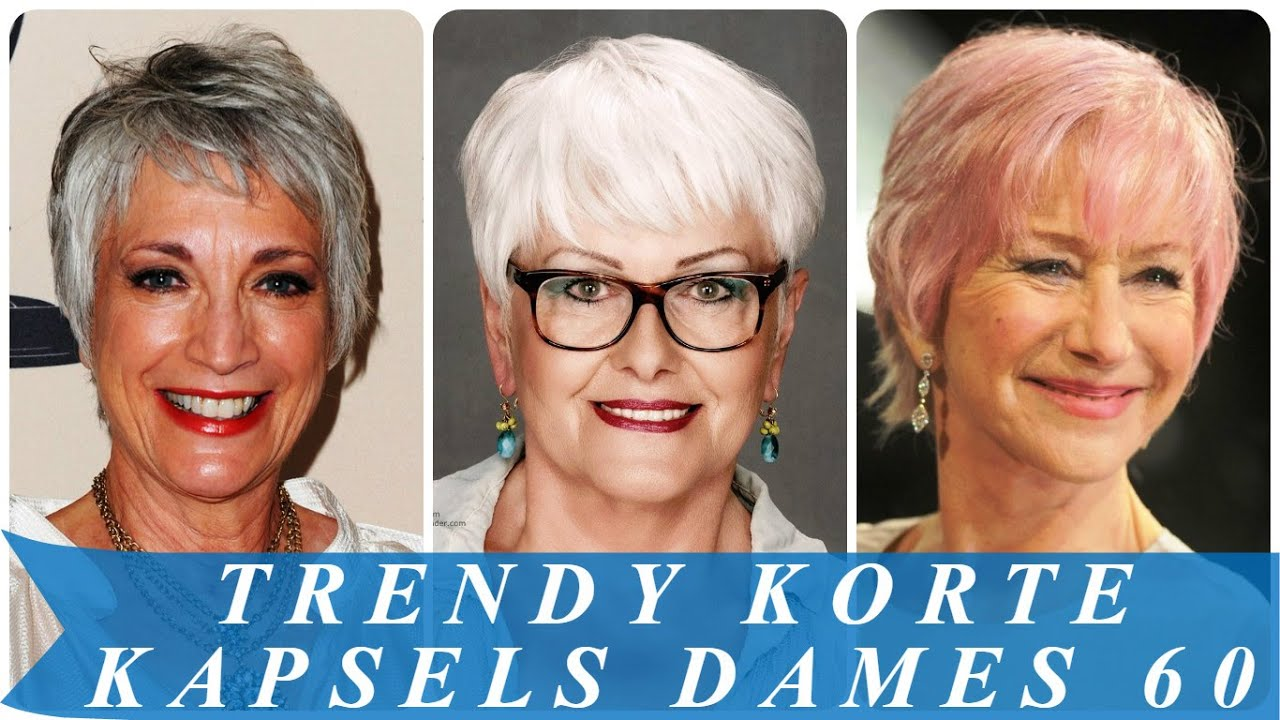 Korte Kapsels Voor Oudere Dames By Modern Kapsel