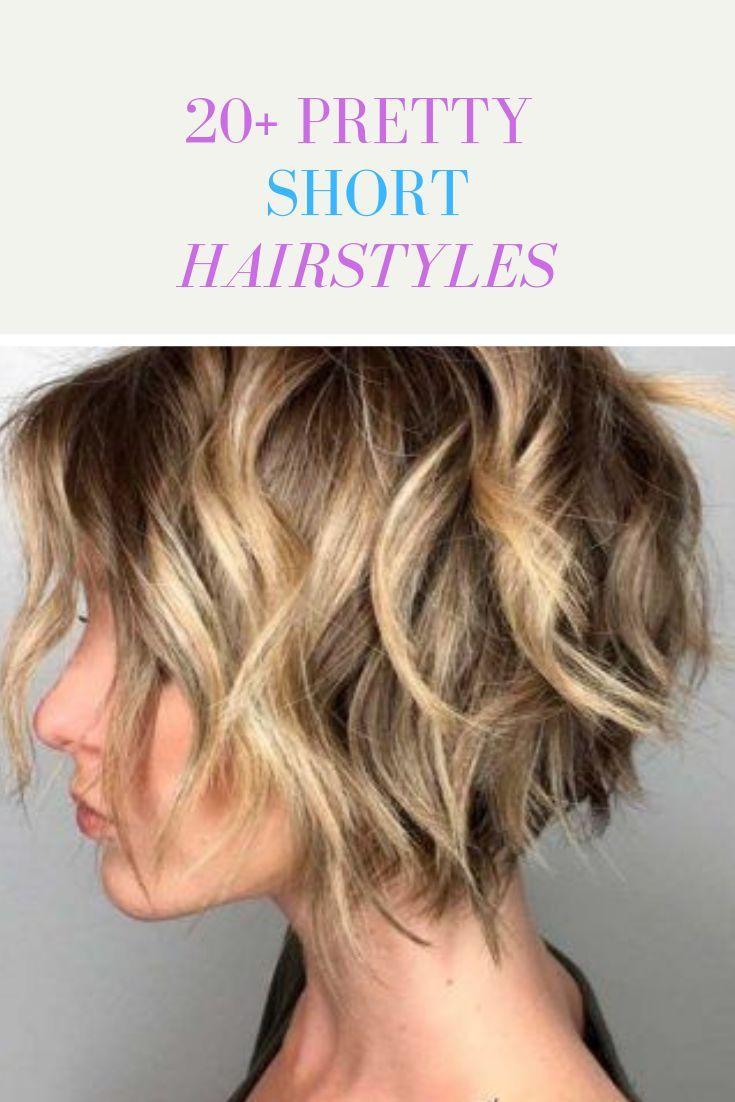 20 Cute Short Hairstyles Hairstyles Shorthair Mode Kapsels Kort Haar Kapsels Schattige Korte Kapsels