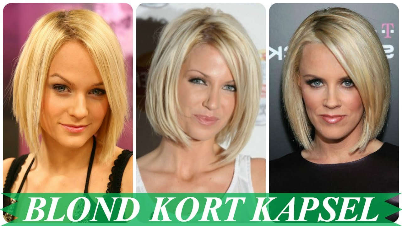 Blonde Bob Kapsels Youtube
