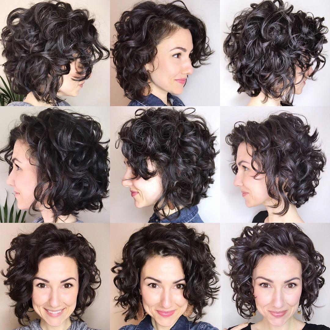 Pin On Curly Hair Bob