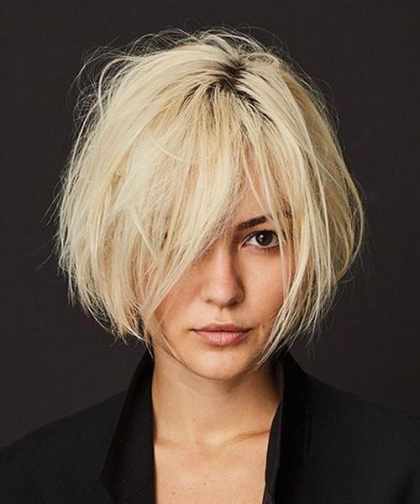 8 Trendy Kapsels Voor De Lente Libelle Shortmessyhaircuts Shorthairstylesforwomen Bobhaircuts Shortmessy Unordentliche Frisur Haarschnitt Kurzhaarschnitte