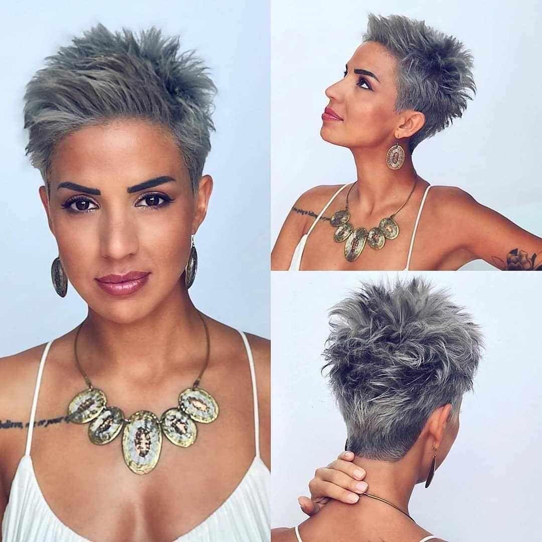 40 Nieuwste Korte Kapsels Voor De Winter 2020 Voorbeelden Van Haarstijlen Short Hair Styles Haircut For Thick Hair Pixie Haircut For Thick Hair