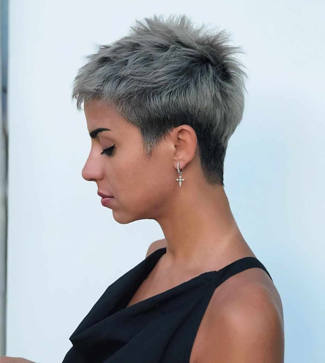 50 Latest Pixie And Bob Haircuts For Women Cute Hairstyles 2019 Short Hair Styles Short Hair Trends Bobs Haircuts