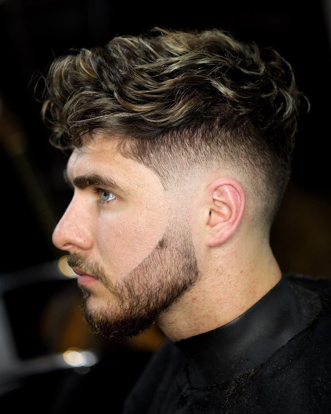 Mens Haircuts 2018 Top 100 Pro Barber Tipsmens Haircuts 2018 Top 100 Mens Haircuts Fade Curly Hair Men Mid Fade Haircut