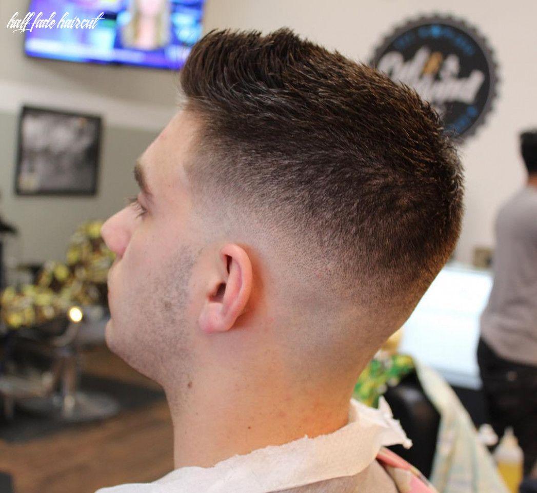 12 Half Fade Haircut
