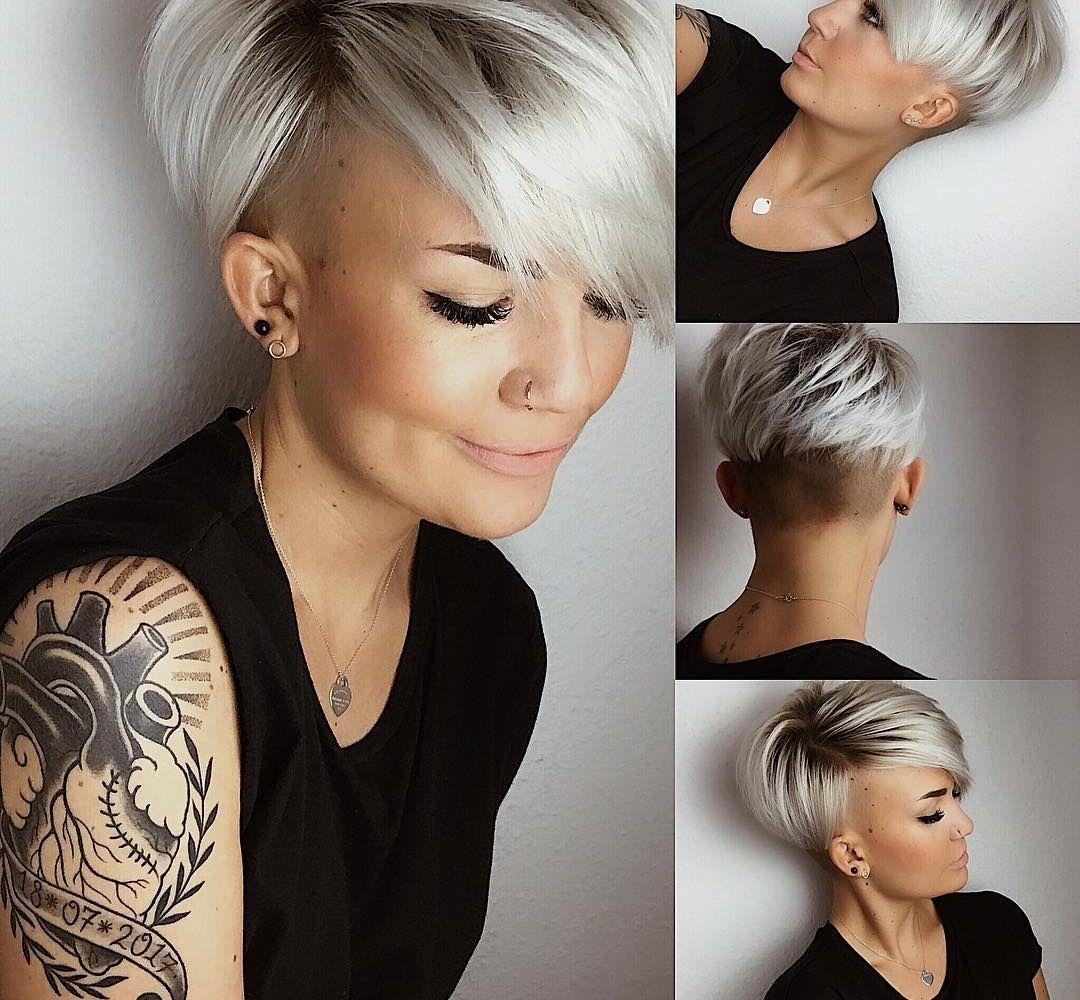 13x De Meest Trendy Haarkleur Van Het Moment Korte Kapsels Kapsels Kapsels Voor Kort Haar Kort Haar Kapsels