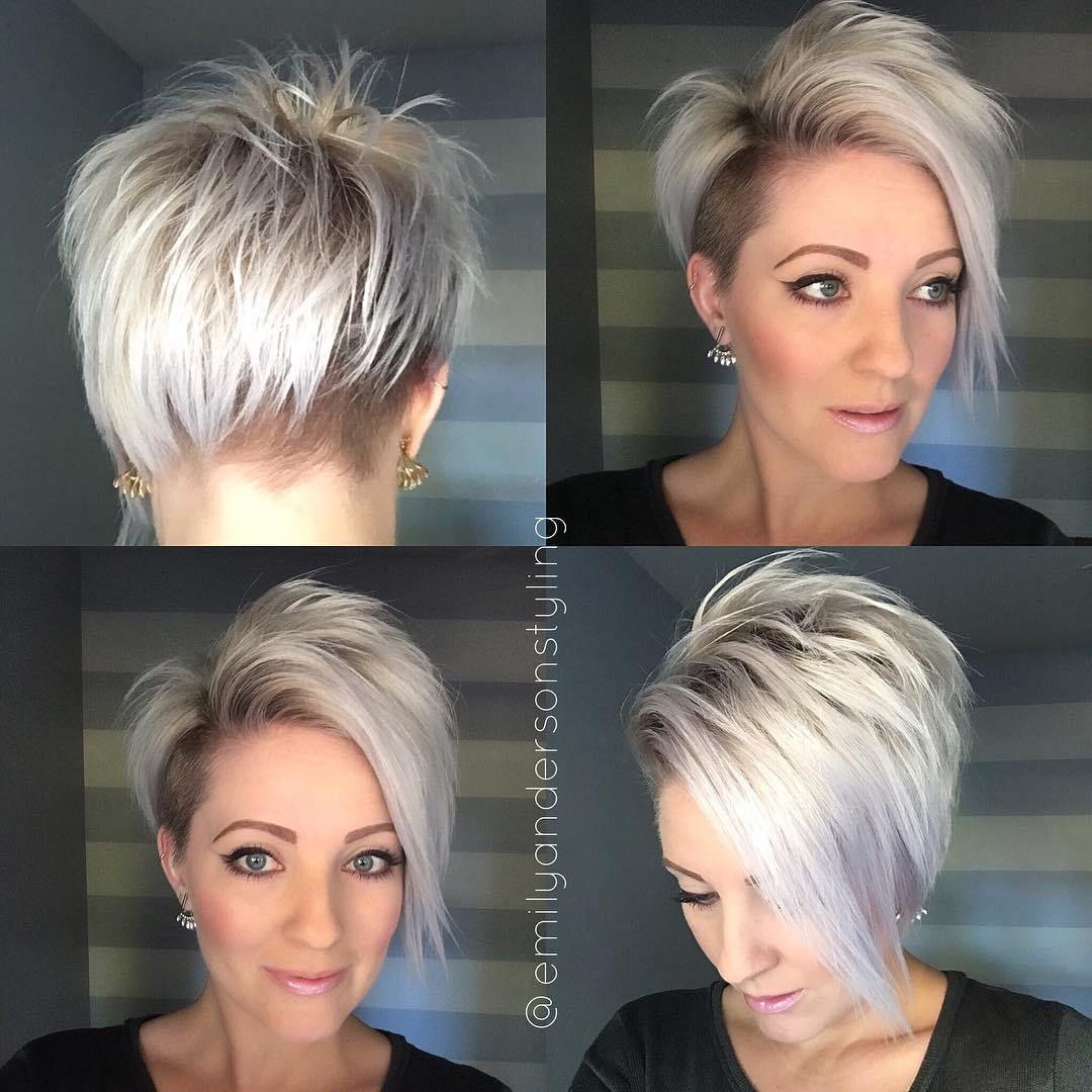 100 Mind Blowing Short Hairstyles For Fine Hair Met Afbeeldingen Kapsels Kort Haar Kapsels Kapsels Dun Haar