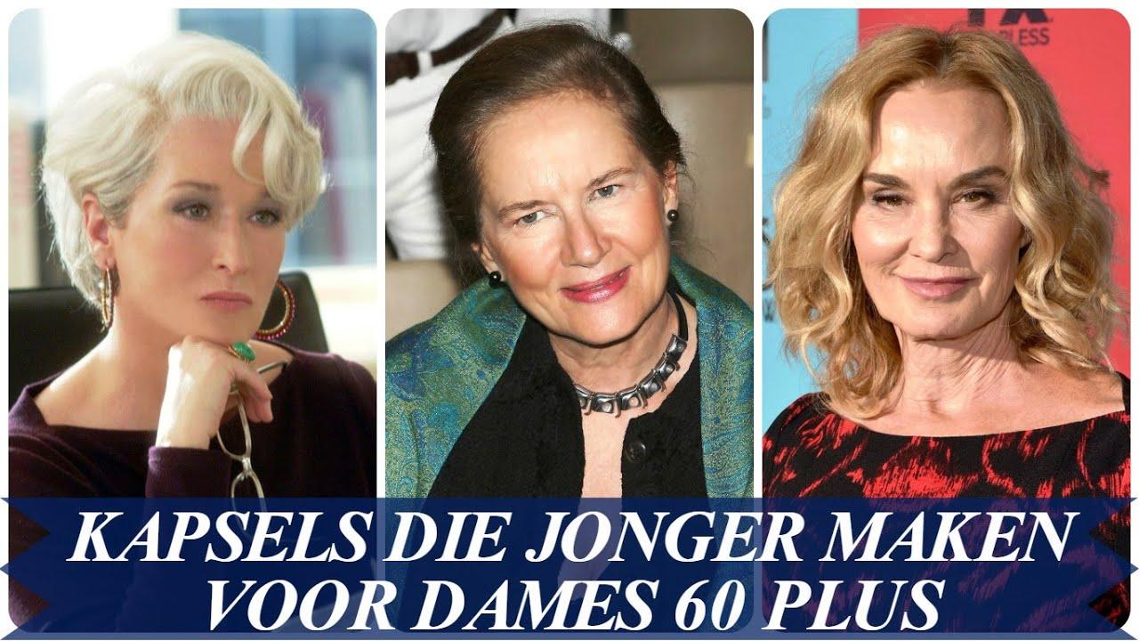 Kapsels Die Jonger Maken Voor Dames 60 Plus Youtube
