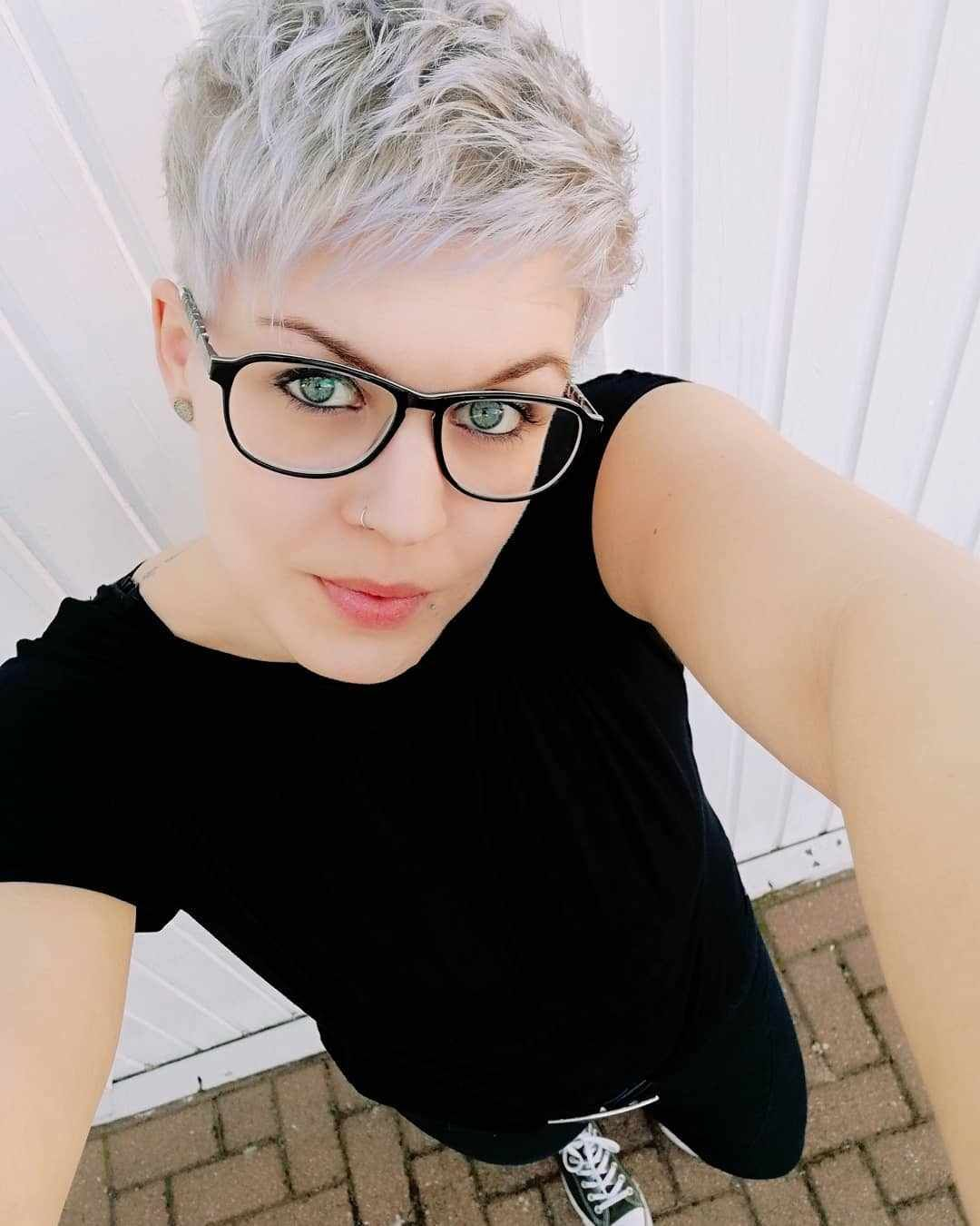 60 Favorite Short Hairstyles For Special Occasions Bobhair Hair Pixie Pixiehaircut Pixiehairstyl Short Thin Hair Short Hair Styles Long Face Hairstyles