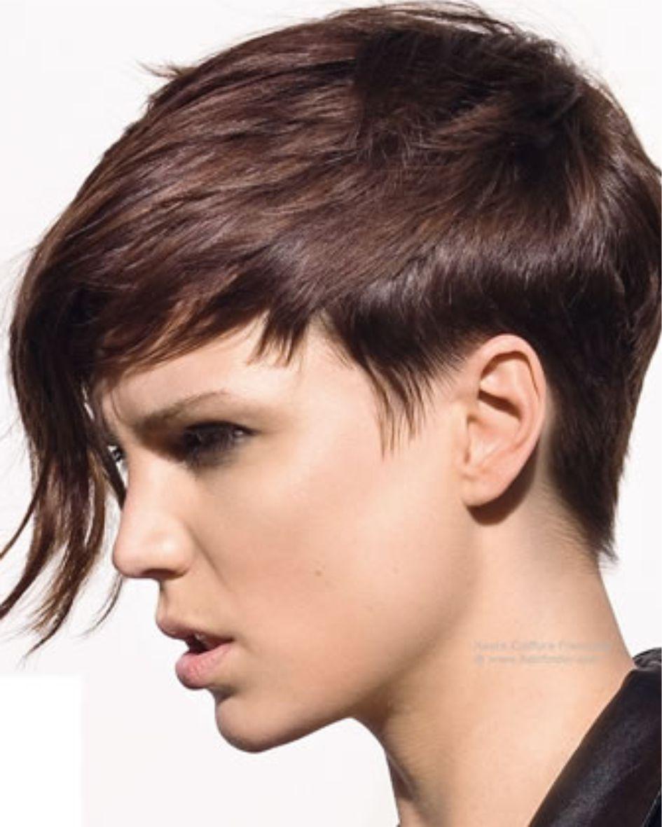 Kort Dun Haar Voor Vrouwen Mooie Kapsels Voor Vrouwen Met Dun Haar 2019 Bruin Dun Kort Short Hair Styles Pixie Womens Hairstyles Short Hair With Bangs