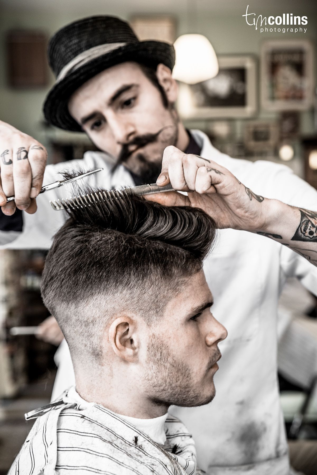 I Spent A Full Day In Schorem Barber Shop In Rotterdam I D Seen Photos Of The Place But I D Never Been In Th Haircuts For Men Barber Shop Pictures Barber Shop