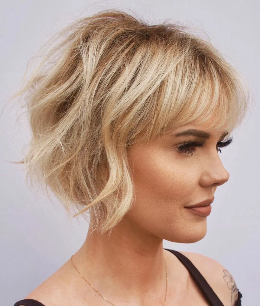 Best Short Hairstyles For Fine Hair 2020 Google Search In 2020 Trending Haircuts Short Wavy Hair Hair Styles