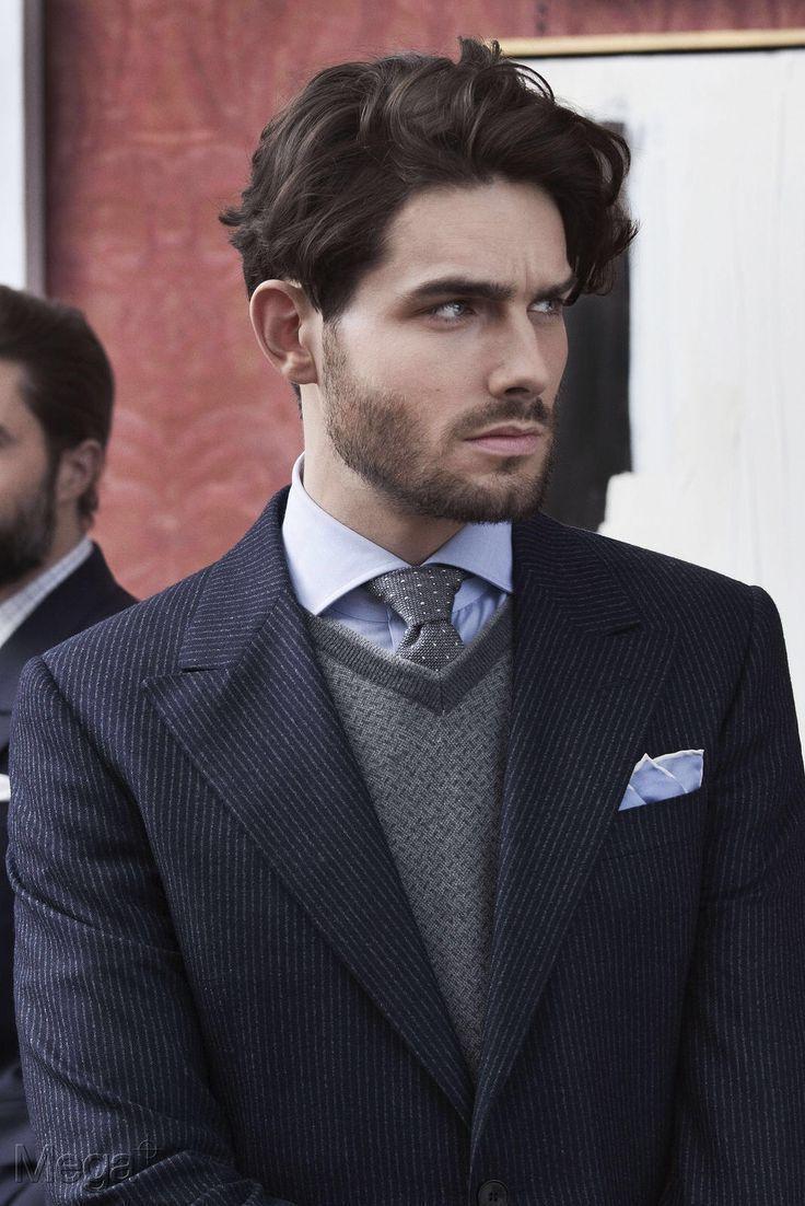 Mens Fashion Classic In 2020 Lang Haar Man Kapsel Man Mannenkapsel Halflang