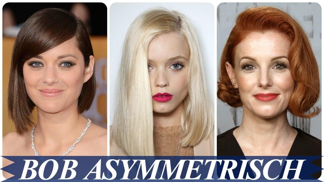 Nieuwe Kapsels Asymmetrisch 2018 Dames Youtube
