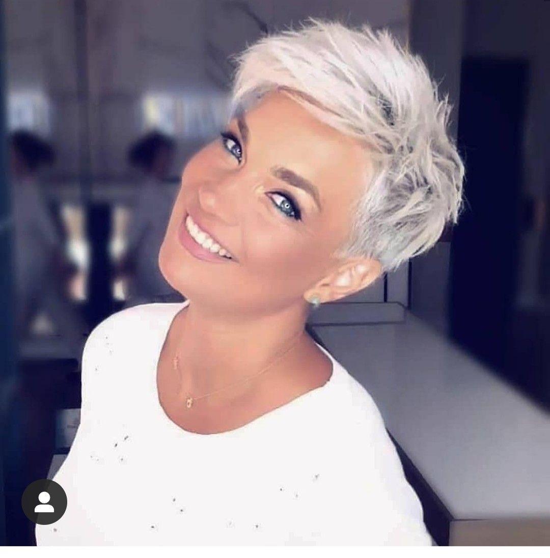 Pin Van Courtney Gainey Op Kapsels Korte Kapsels Wit Haar Kapsels Voor Kort Haar Kort Haar Kapsels