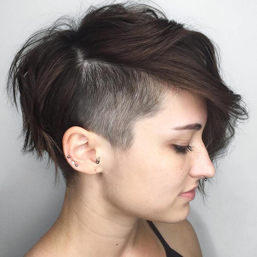 Pixie Cut Undercut Pixie Edgy Pixie Pixie Cut Undercut Pixie Short Hair For Women Novocom Top