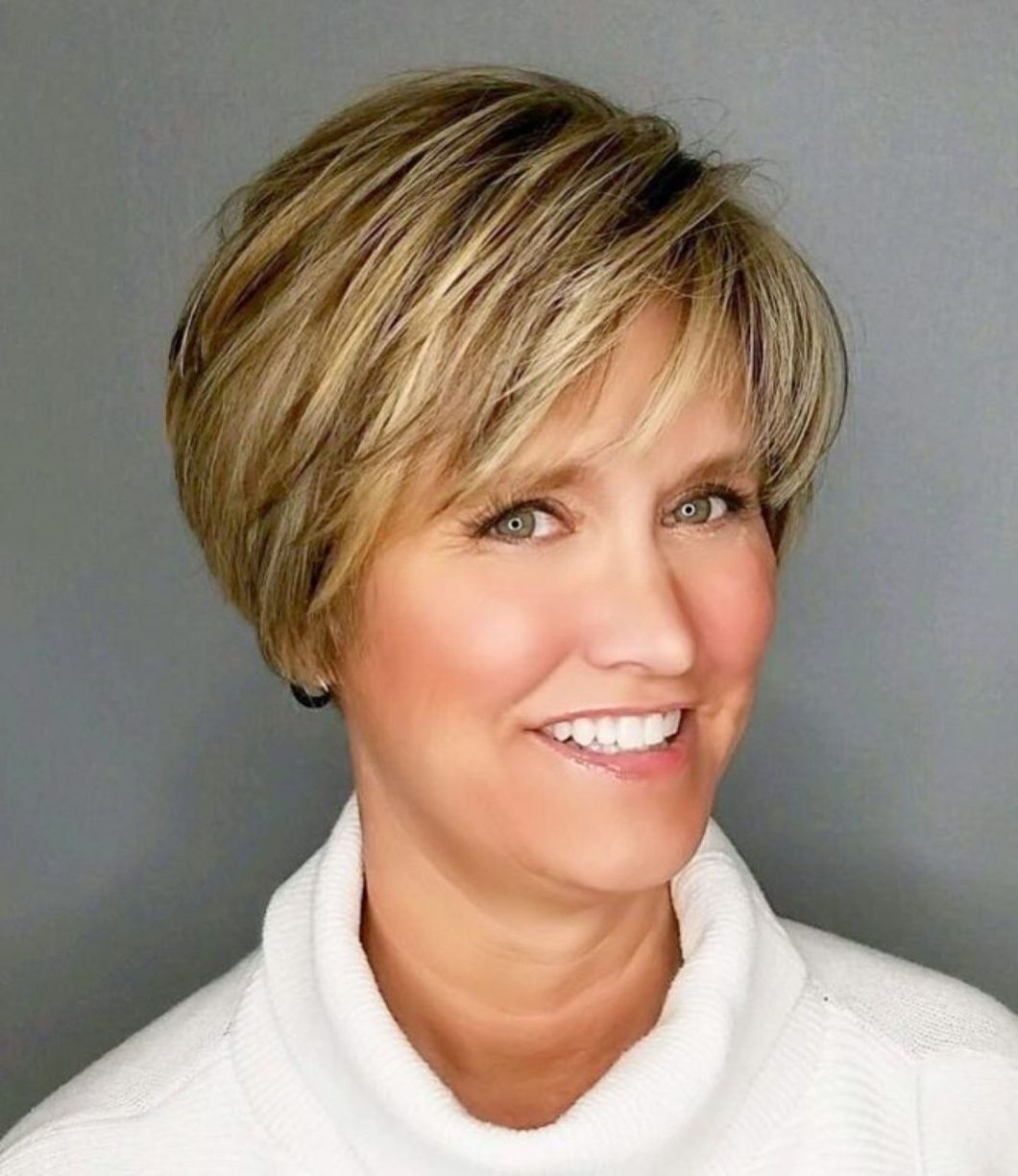 90 Classy And Simple Short Hairstyles For Women Over 50 In 2020 Short Hairstyles For Women Short Hair Styles Thick Hair Styles