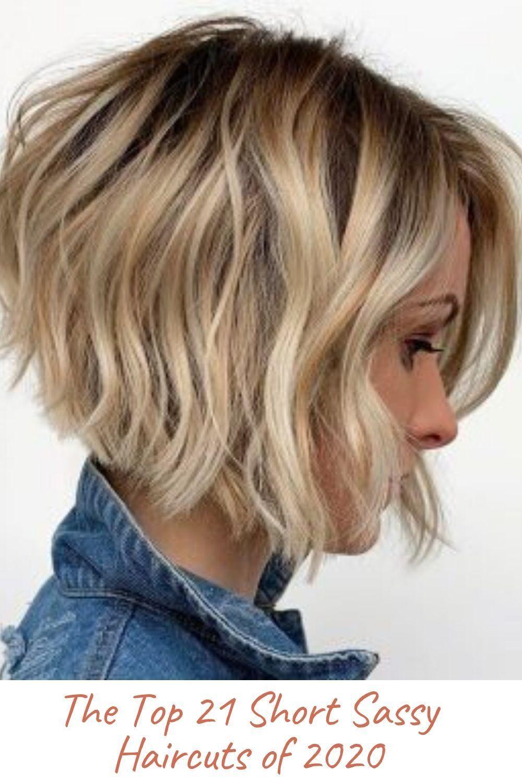 The Top 21 Short Sassy Haircuts Of 2020 In 2020 Short Sassy Haircuts Short Sassy Hair Trendy Short Hair Styles