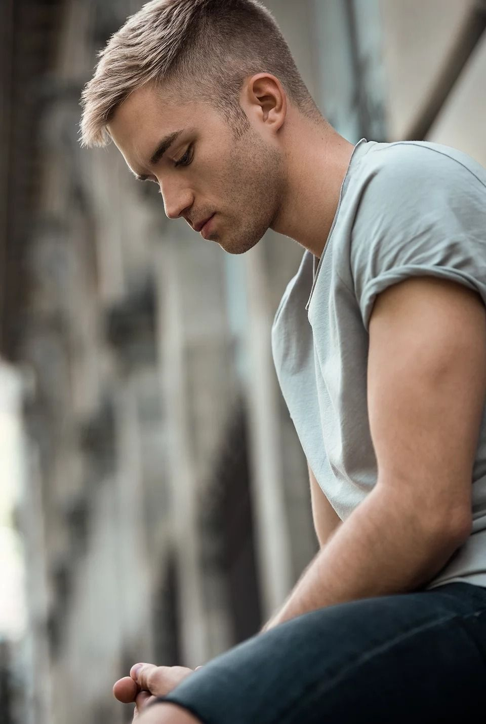 Pin Van George Op Random Kapsels Mannen Herenkapsels Blond Mannen Kort Haar