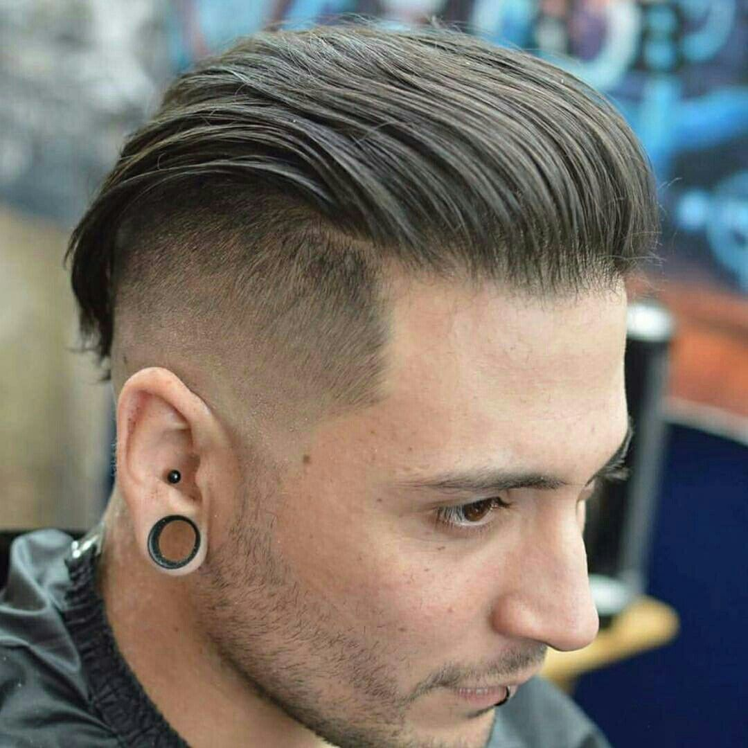 Pin By Jp On Barberia Y Peluqueria Beard Hairstyle Mens Slicked Back Hairstyles Gents Hair Style