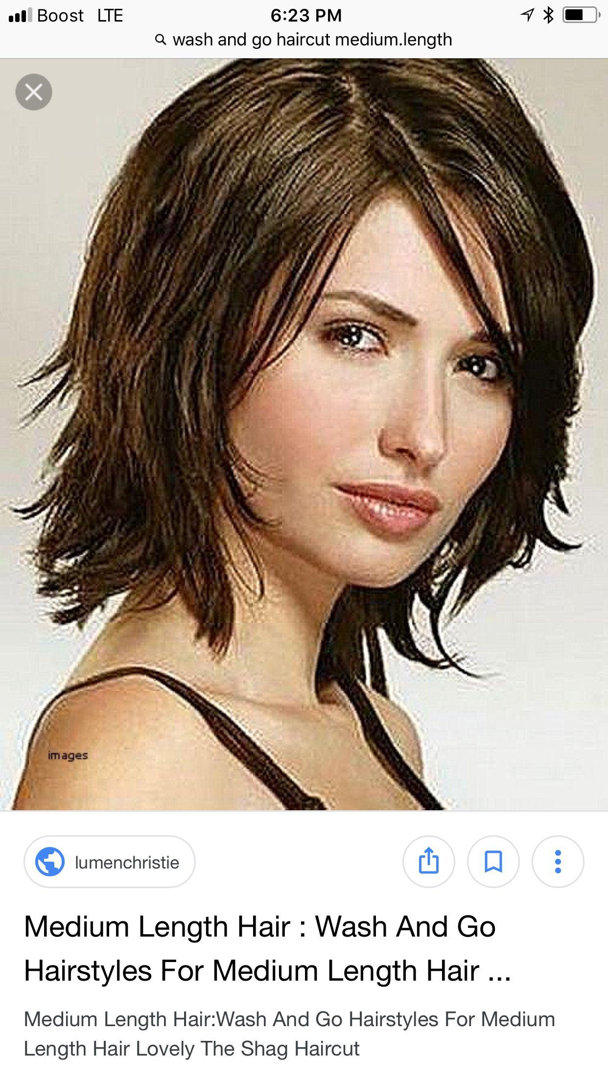 Pin Van Marja Van Yperen Op Hair Kapsels Halflang Kapsel Kapsel Halflang Haar Laagjes