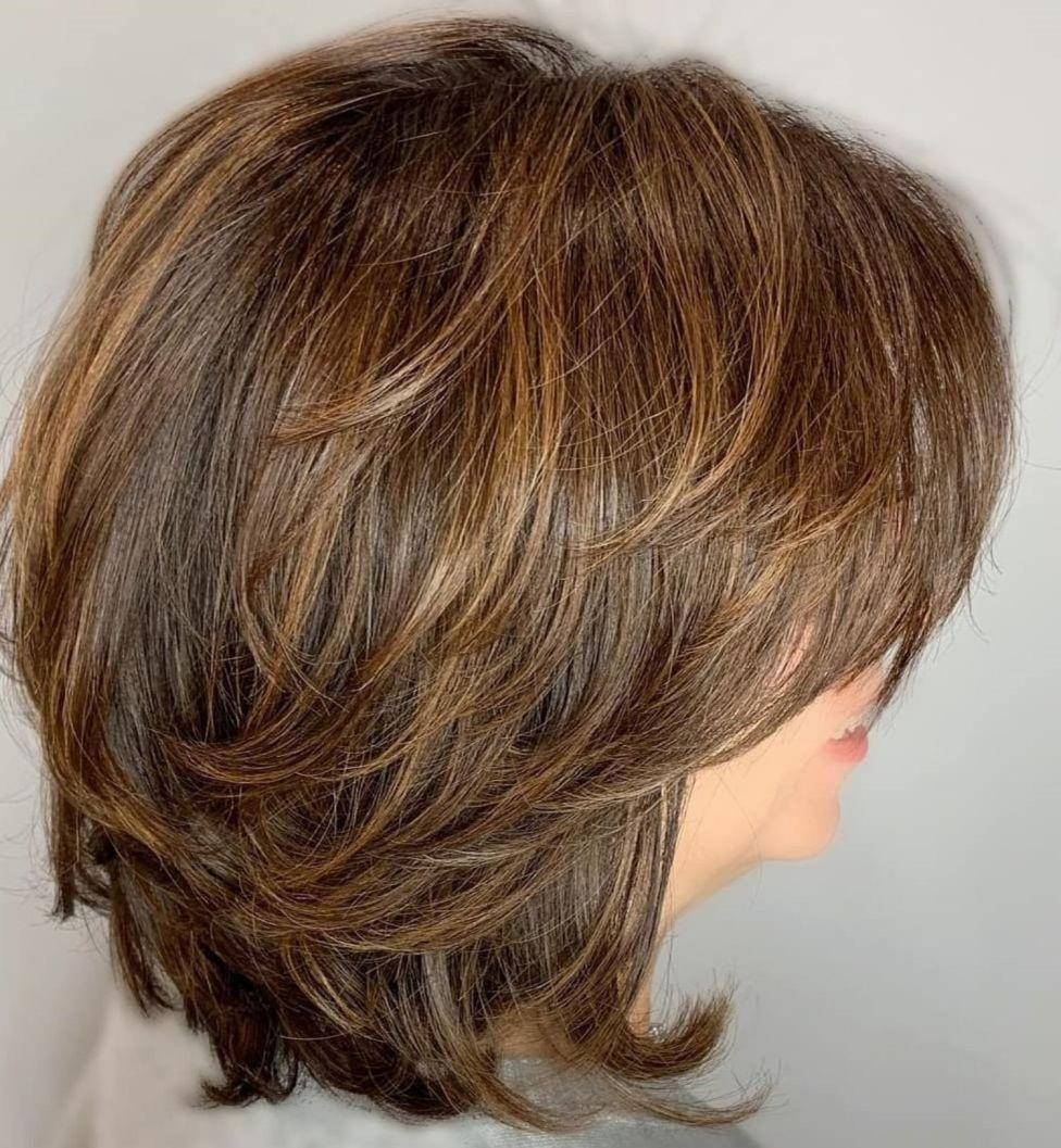 70 Best Variations Of A Medium Shag Haircut For Your Distinctive Style Kapsels Laagjes Kapsel Halflang Halflange Kapsels