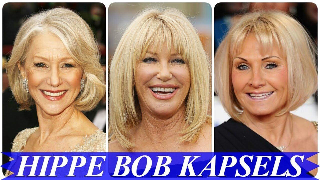 Bob Kapsels Voor Oudere Dames Youtube