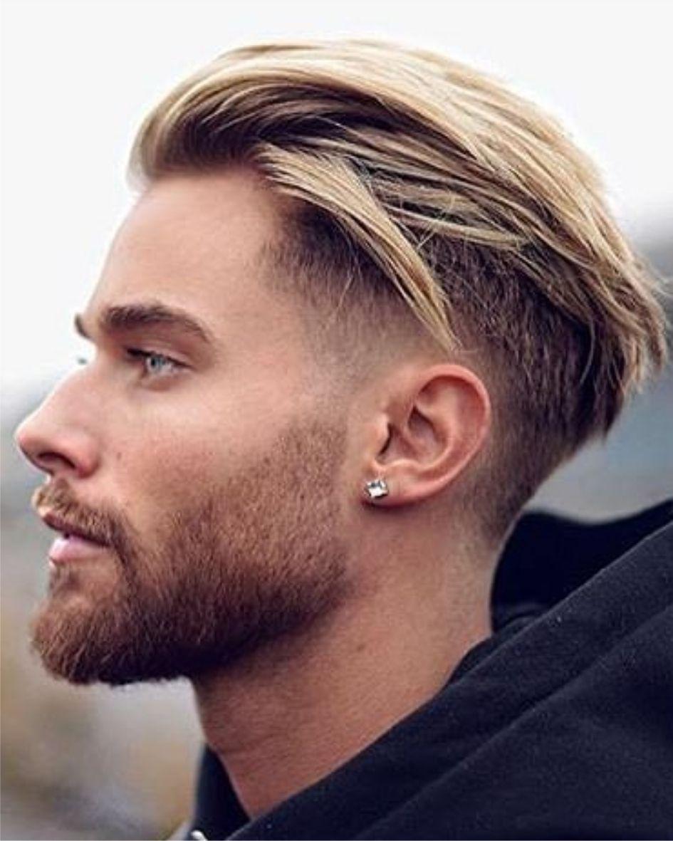 Stijl Blond Haar Voor Mannen De Beste Kapsels Voor Mannen 2018 Dun Opgeknipt Opgeschoren Stijl Voorjaar Herenkapsels Kapsels Kapsels Mannen Lang Haar