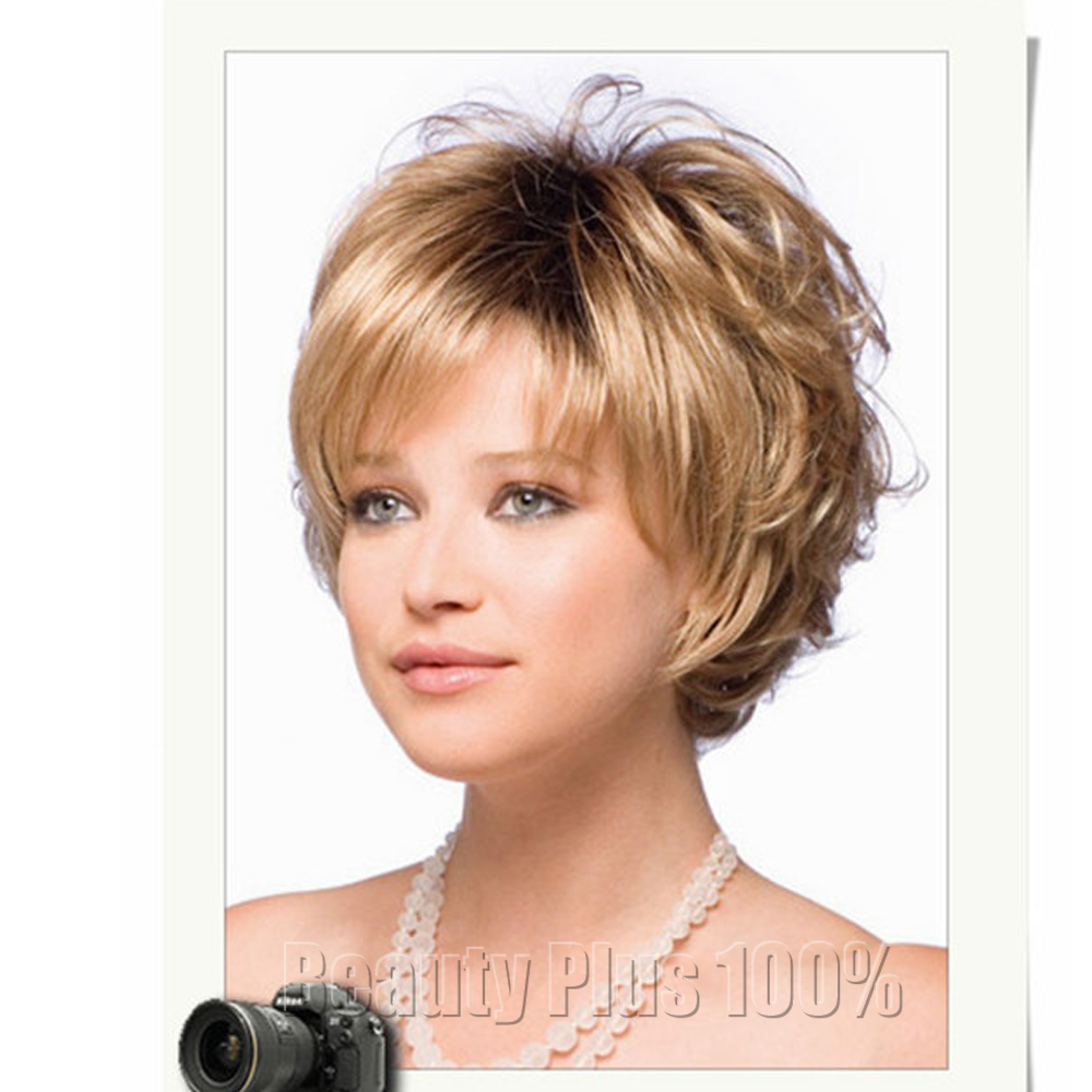 2016 Zeer Korte Kapsels Voor Oudere Vrouwen Synthetisch Krullend Haar Pruik Haarstukje Grijs Blonde Vrouw Pruik Peruque Afro Gratis Verzending Wig Lace Wig Scalphairstyles Long Black Straight Hair Aliexpress