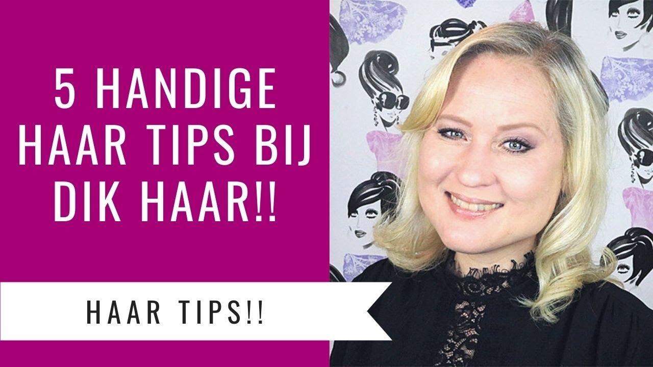 5 Dik Haar Tips Kapsels Stylen En Stevigheid Dazzling Beauty Youtube