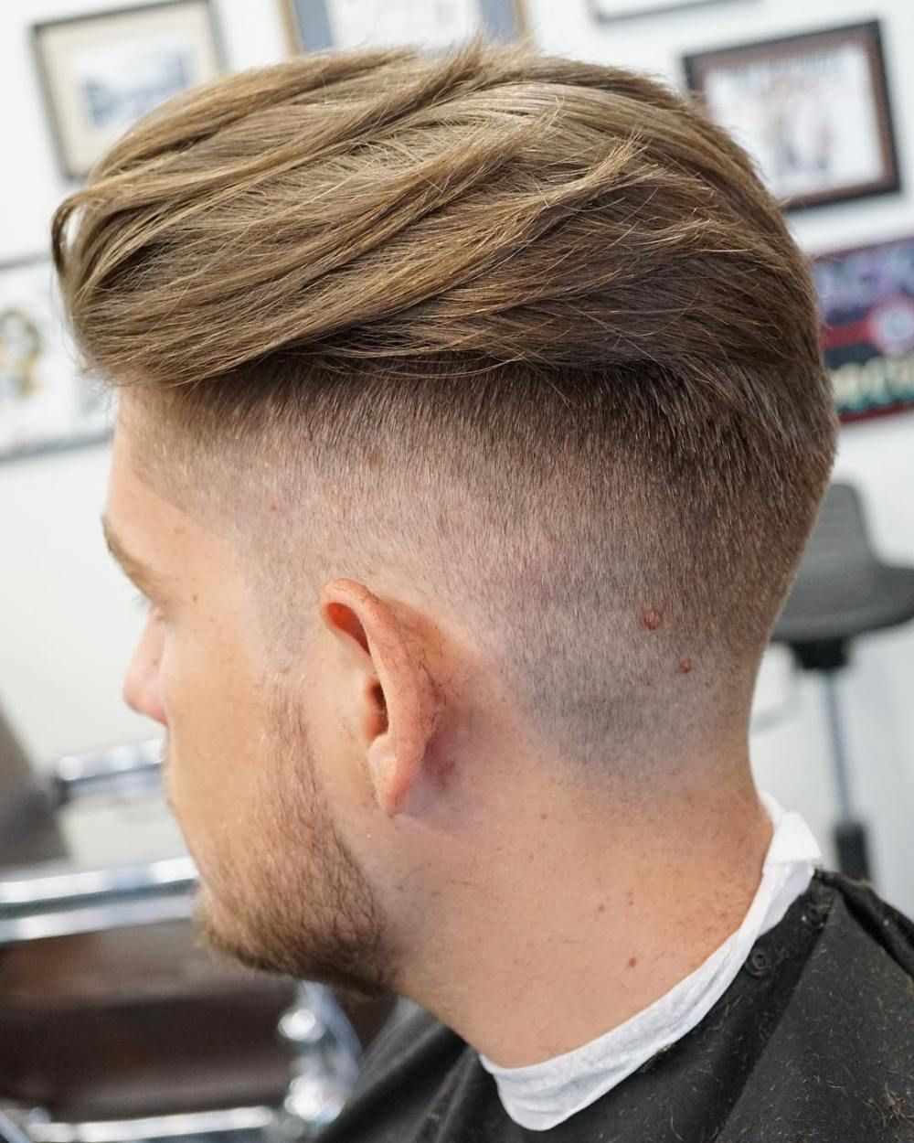 30 Ultra Cool High Fade Haircuts For Men Herenkapsels Mannenkapsels Heren Kapsel