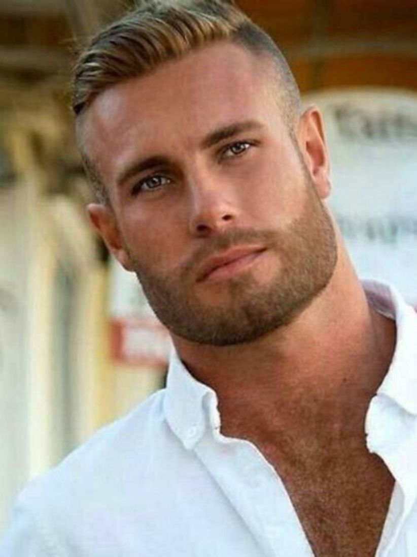 Awesome 54 Cool Beard Styles For Handsome Men In This Year Http Klambeni Com Index Php 2019 01 02 54 Cool Beard Styl Blonde Guys Mens Hairstyles Beard Styles