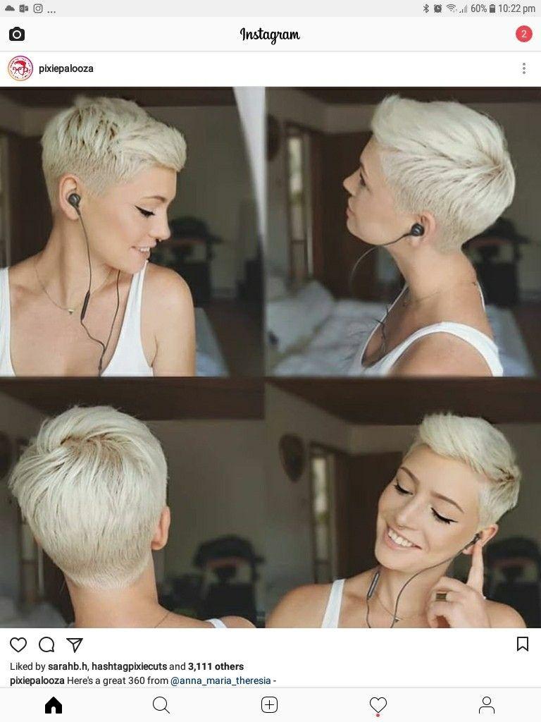 Pin Van Sherri Lockett Op Hair Obsessed Kort Haar Mode Kapsels Voor Kort Haar Kort Kapsel Voor Rond Gezicht