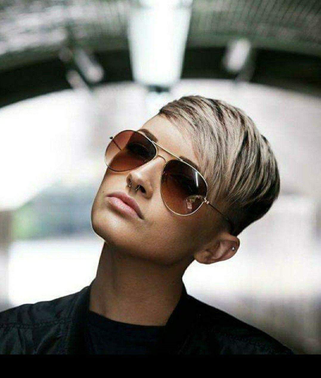 Pin By Nanda Matser On Hair Super Short Hair Short Hair Styles Pixie Short Hair Styles