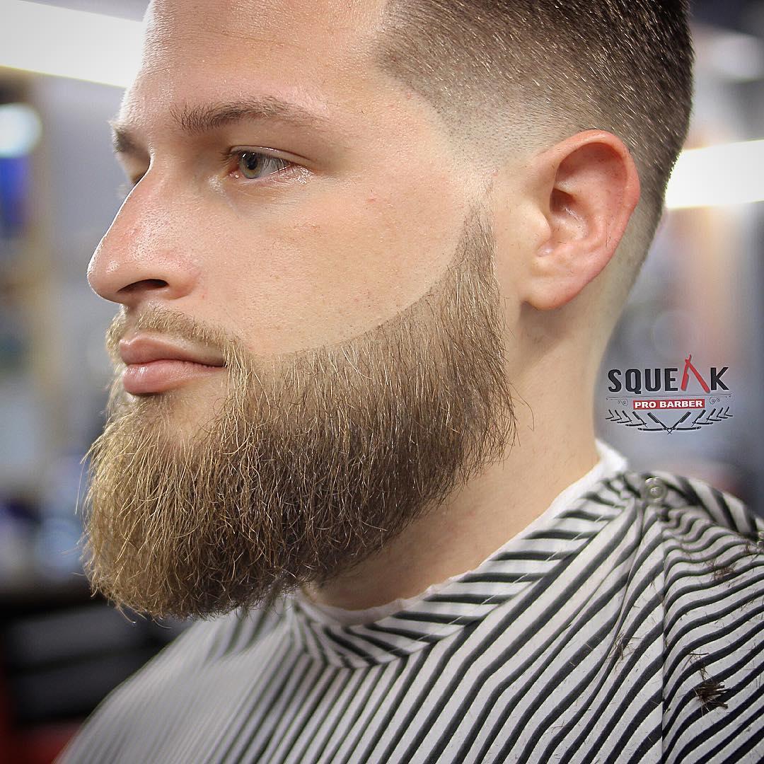 Low Fade Haircut White Men Novocom Top