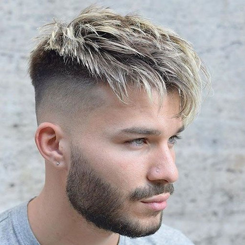 38 Perfect Silver Hairstyles For Men Over 40 Men Hair Color Thick Hair Styles Mens Hairstyles Undercut