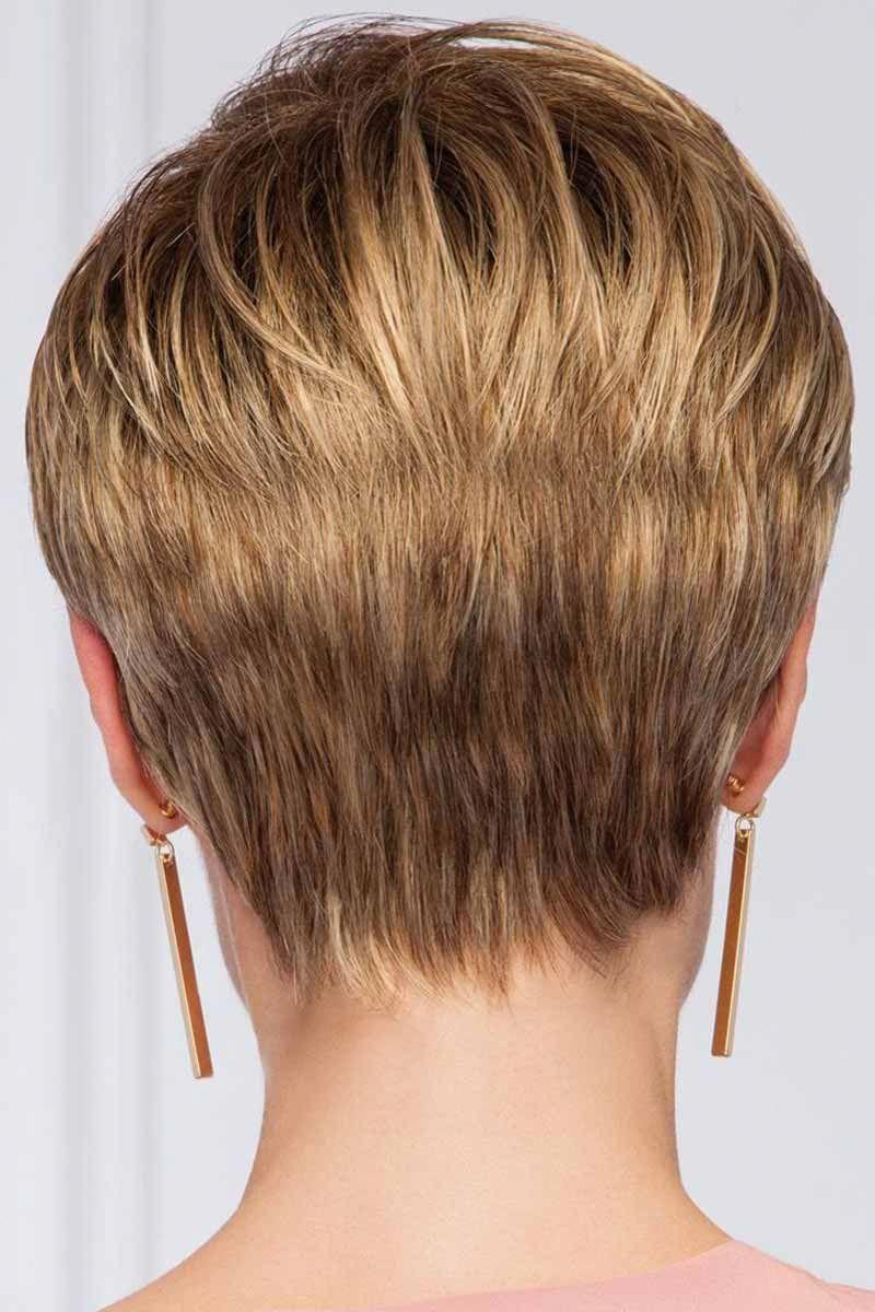 Pin Op Short Hair Cuts