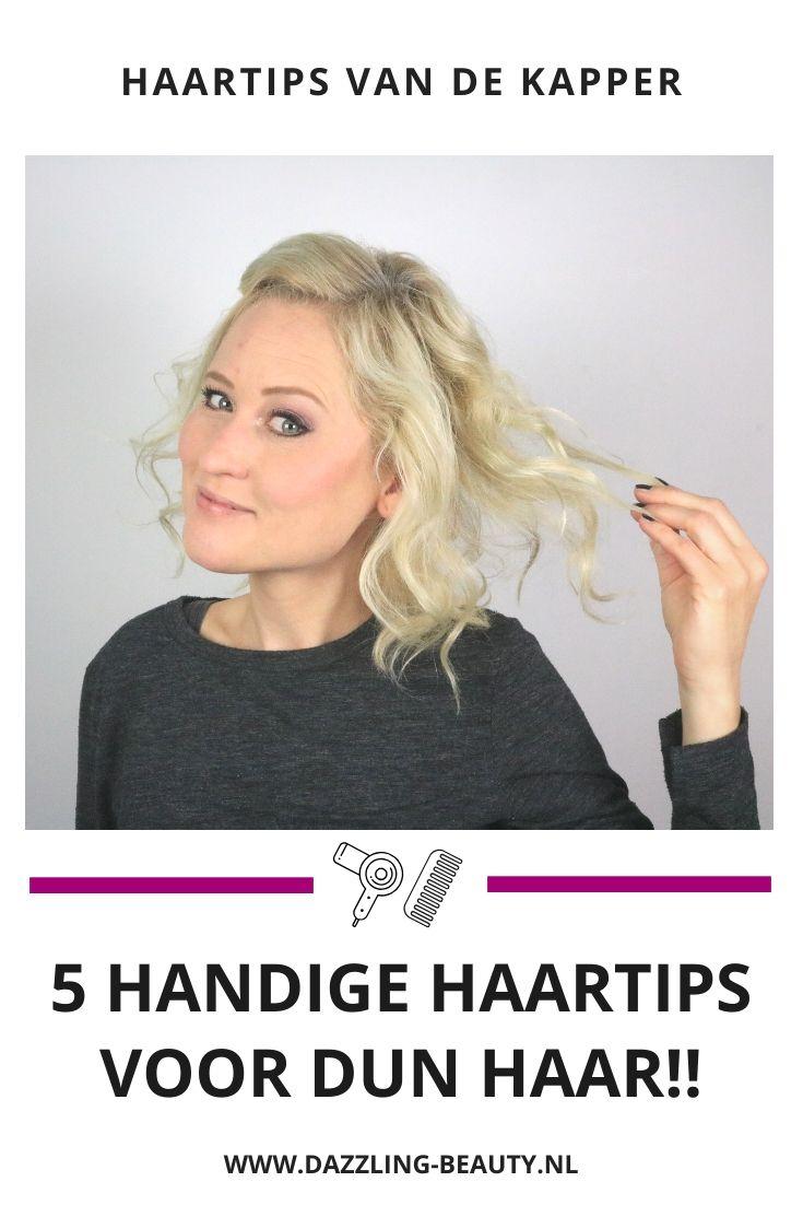 5 X Dun Haar Tips Dun Haar Tips Dun Haar Lange Kapsels Dun Haar