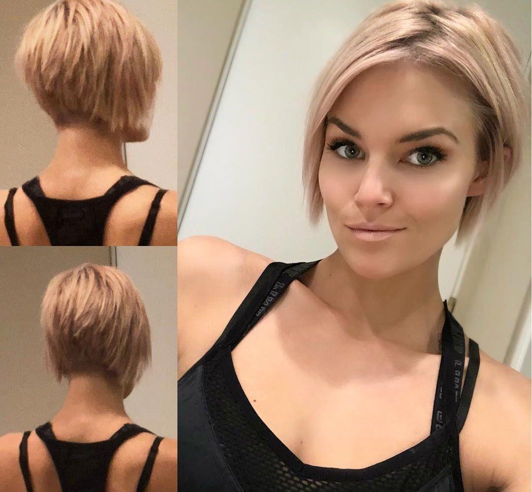 13x Blonde Bob Kapsels Om Van Te Genieten Korte Kapsels Kapsels Kapsels Voor Kort Haar Kort Haar